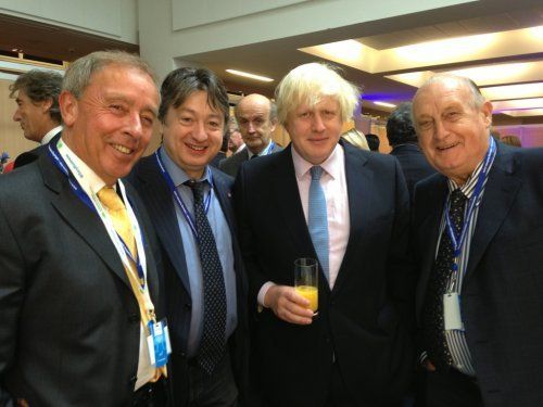 Alexander Temerko pictured with, then, Mayor of London Boris Johnson (now Foreign Secretary)
