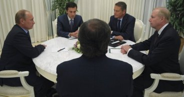 Negotiations with Vladimir Putin and TNK-BP