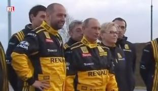 Gérard Lopez with Vladimir Putin