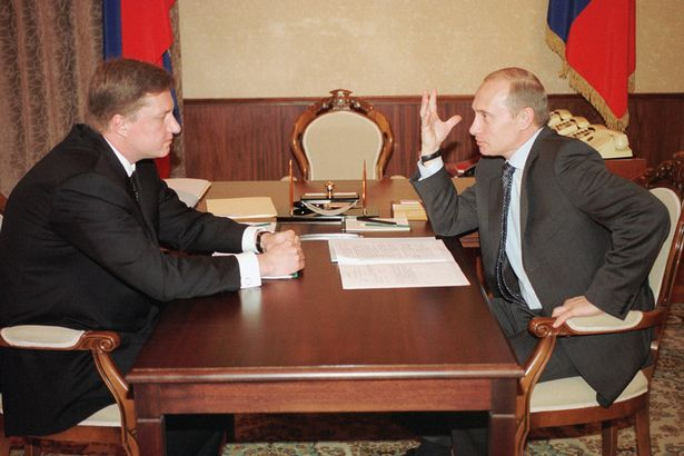 The two Vladimirs (Vladimir Chernukhin and Vladimir Putin)