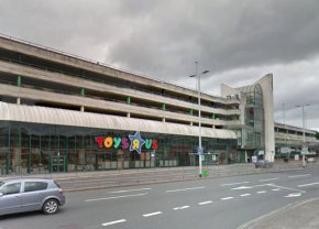 """Man, 22, jailed for raping young girl in the stairwell of a Toys R Us car park A PERVERT sobbed in the dock as he was jailed for raping a """"vulnerable†young girl in the stairwell of a Toys R Us car park. Connor Hiscocks, 22, was caught on CCTV carrying out the sick attack on the girl, who was under the age of 13, outside the children's toy store in Plymouth. Photo shows Toys-R-Us store in Plymouth Photo credit: Google Streetview"""